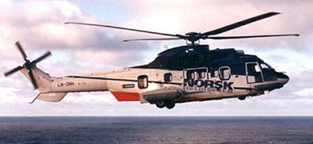 Eurocopter delivers the 500th Helicopter in the Super Puma/Cougar family to Bristow Helicopters