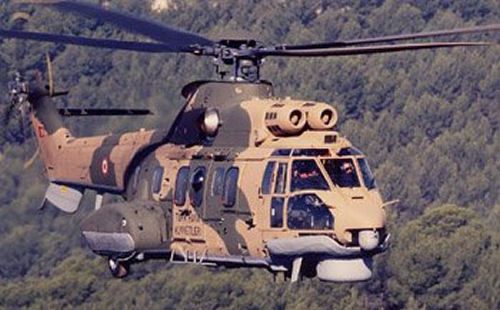 Delivery of the First Combat SAR Cougar to the Turkish Air Force