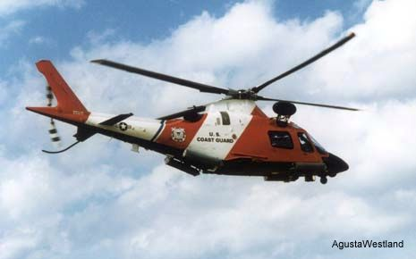 AgustaWestland signed a contract for a continuation of its U.S. Coast Guard HITRON (Helicopter Interdiction Tactical Squadron) program. Eight A109, as MH-68A, used since 2000 from Jacksonville, Florida