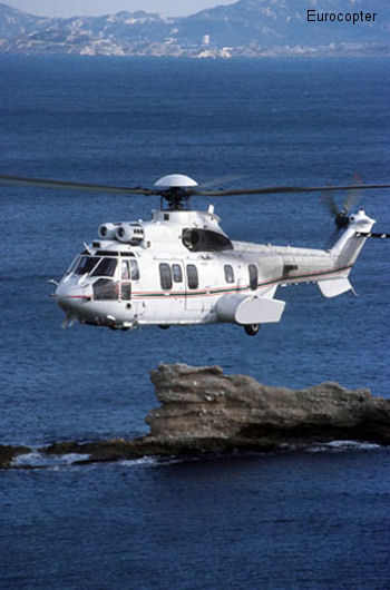 Delivery of the first EC225 to the Ministerial Air Liaisons Group of the Republic of Algeria