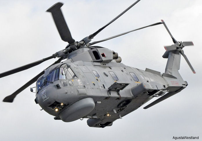 AgustaWestland Launches HEAT Programme for EH101 Merlin