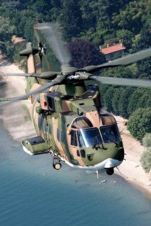 Portuguese Air Force 12th and last EH101 helicopter delivered in 18 months