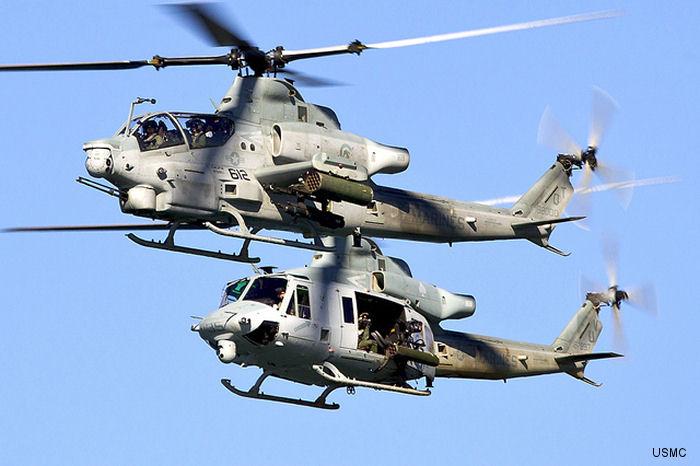 AH-1Z/UH-1Y Complete Developmental Testing