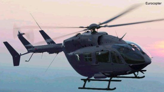 US Army Places Second Production Order For Eurocopter UH-145 Light Utility Helicopters