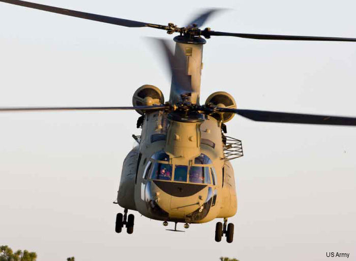 Boeing Delivers 1st CH-47F Chinook Manufactured Under Multiyear Contract Award