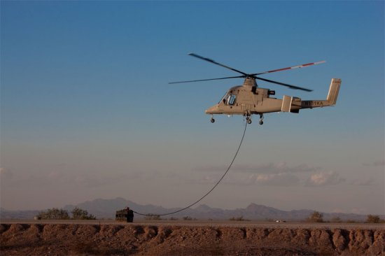 US Navy Awards Lockheed Martin to Prepare Unmanned K-MAX Helicopter for Deployment