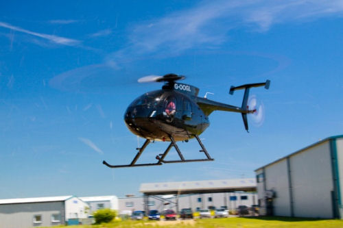 MD Helicopters, Inc. Ships 600th MD 500E