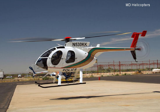 MD Helicopters Delivers New MD 530F to Las Vegas Metro Police Department