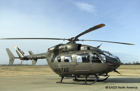 American Eurocopter delivered the 100th UH-72A Lakota to the U.S. Army