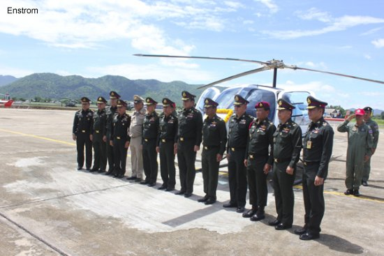 Enstrom Helicopter Completes Delivery of the First Helicopters to the Royal Thai Army