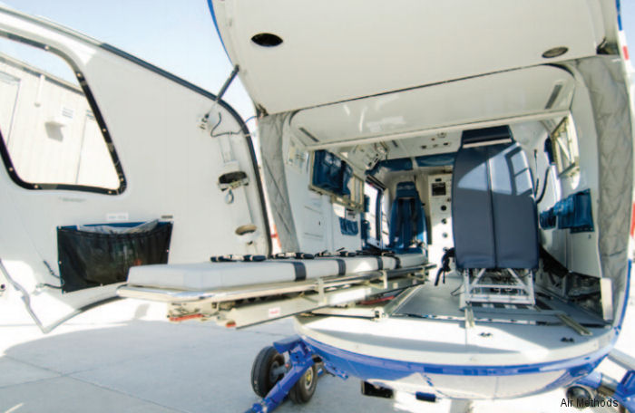United Rotorcraft, part of Air Methods, to complete 4 new EC145 with medical interior for OSF Aviation, part of OSF HealthCare
