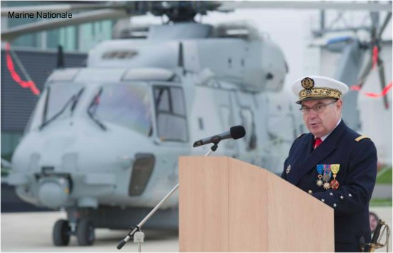 French Navy NH90 Caiman has officially entered operational service at the naval aviation base Lanveoc Poulmic