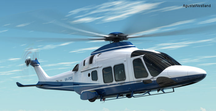 Linfox Orders Three VIP AW169 Helicopters