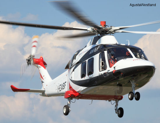 Mitsui Bussan Aerospace Appointed Official AgustaWestland Distributor for the AW169 Helicopter in Japan