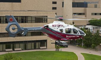 Beaumont and PHI Air Medical launch helicopter transportation service