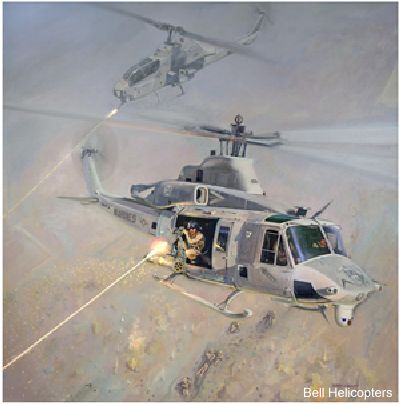 Bell Helicopter Honors H1 Yankees and Zulus in the Second of the Heroes of Aviation Series