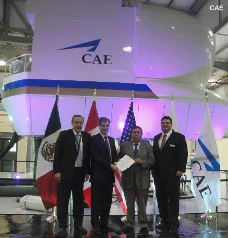 CAE signs agreement with Heliservicio Campeche for Bell 412 and Sikorsky S-76 helicopter training