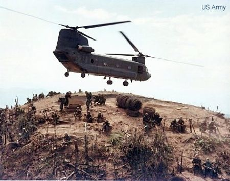Boeing Marks 50 Years of Delivering Chinook Helicopters