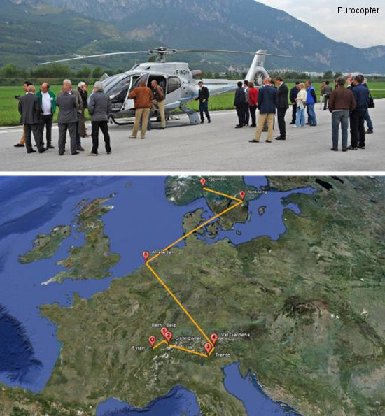 EC130 T2 Demo Tour: A Stop in Northern Italy