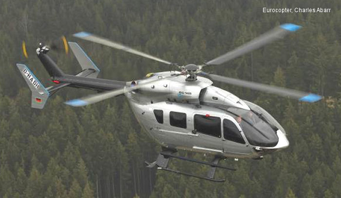 Meravo will operate Germany first Eurocopter EC145 Mercedes-Benz Style