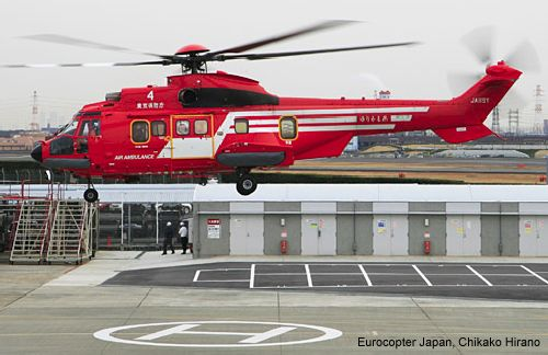 Eurocopter EC225 remains the preferred choice for fire-fighting missions in Japan as it concludes a new contract with the Tokyo Fire Department