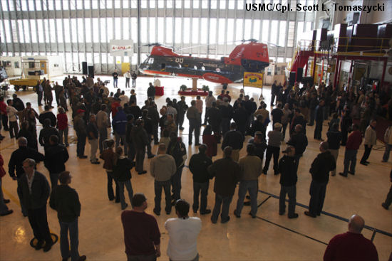 Fleet Readiness Center East delivers last H-46
