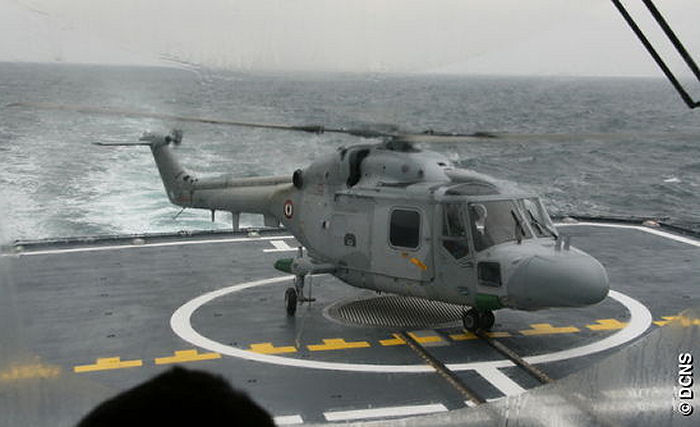 DCNS achieved formal qualification of the French Navy FREMM frigate for operations with the Lynx helicopter