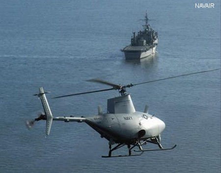 Navy investigates unmanned helicopter mishaps