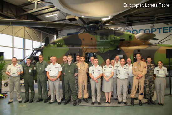Eurocopter Delivers Two NH90s to France DGA for their Deployment by the French Army and Navy