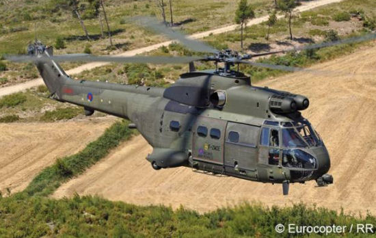 Major milestone achieved on Eurocopter Puma Mk2 helicopter upgrade program for the UK Ministry of Defence