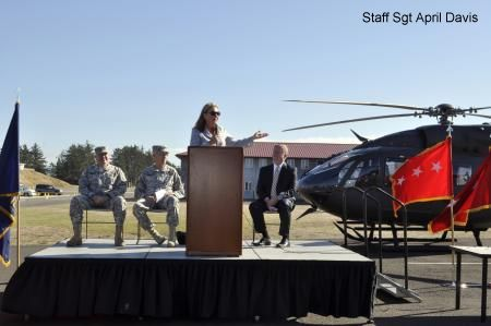Oregon Army National Guard receives new UH-72A Lakota Helicopter