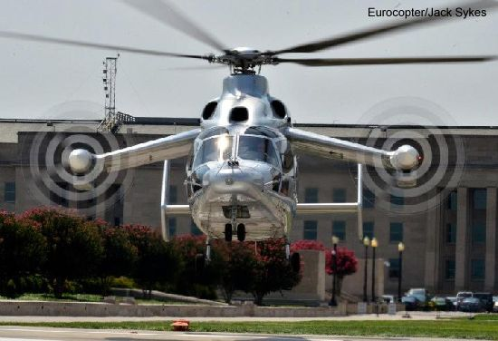 Eurocopter's revolutionary X³ completes U.S. tour at Pentagon