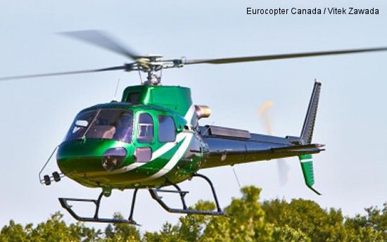 Eurocopter AS350 B3e selected by Wood Buffalo for Fleet Expansion