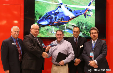 Life Flight Network Signs Firm Orders for Three AW119Kx