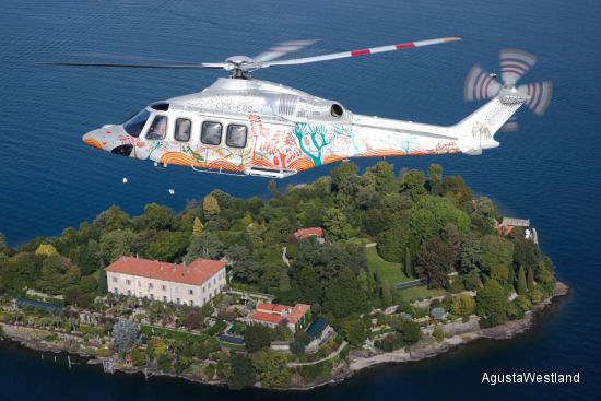 AgustaWestland Delivers 600th AW139 Featuring Special  Paint Scheme and Mission Configuration