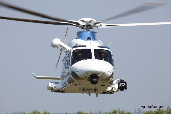 Italian Police Takes Delivery of its Fifth AW139 Helicopter