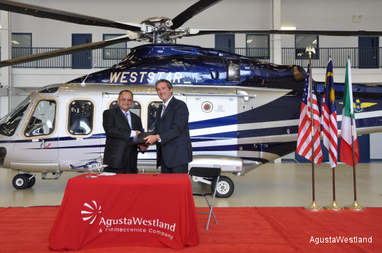 Weststar Aviation Services Adds to Fleet with  Latest AW139 Acceptance