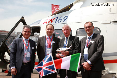 Starspeed Signs Contract for a Second AW169 Helicopter