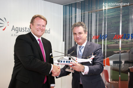 ERA Group Signs Contract for 10 AW189 Helicopters  Plus Options at the Paris Airshow