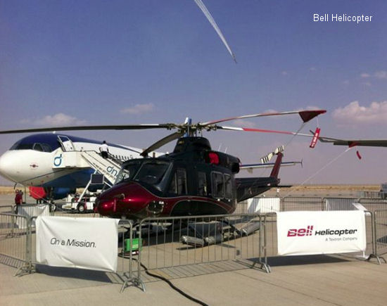 Bell Helicopter to Deliver First Bell 412EPI to Abu Dhabi Aviation