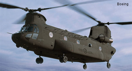 Canada First Boeing CH-47F Chinook Helicopter Includes Contribution from Terma