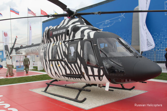 Russian Helicopters showcases new models for Central and South American operators at FIHAV exhibition in Cuba