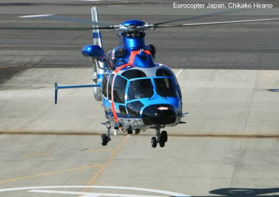 The National Police Agency of Japan acquires four new helicopters from Eurocopter to be deployed to various prefectures