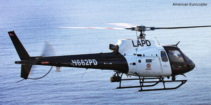 Los Angeles Police Department teams up with American Eurocopter to promote safety through enhanced pilot training programs