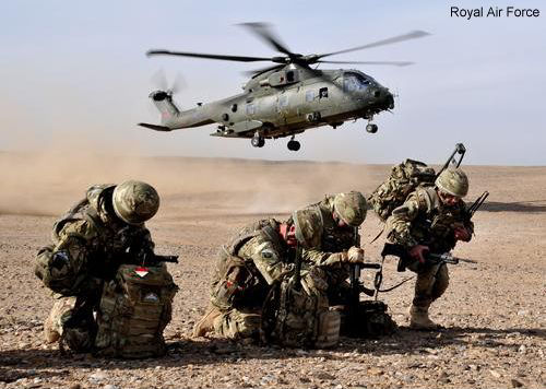 Merlin helicopters end Afghan operations