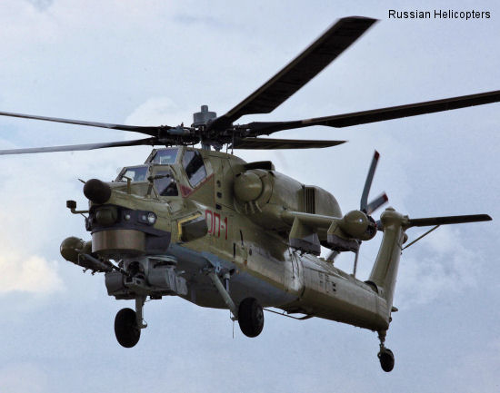 Russian Helicopters to showcase new combat training helicopter Mi-28UB at MAKS 2013