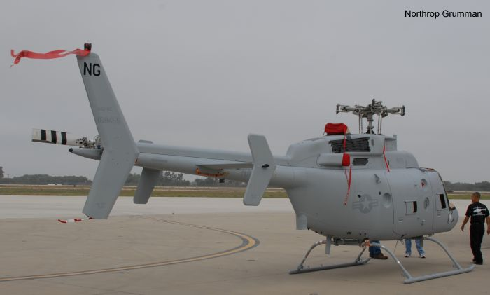 First Upgraded MQ-8C Fire Scout Delivered to U.S. Navy