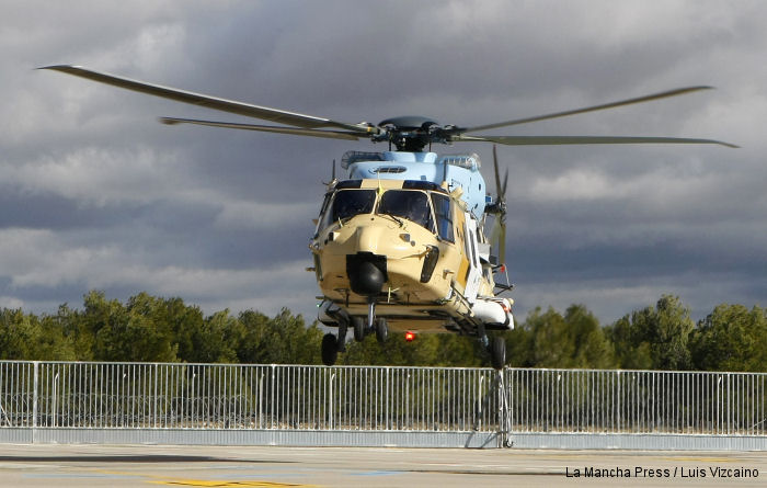 Eurocopter España first-assembled NH90 helicopter takes flight