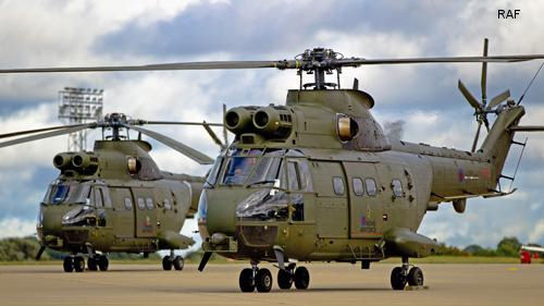 Upgraded RAF Puma takes to the skies