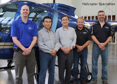 Helicopter Specialties Delivers Two Enstrom 480B Training Helicopters to Japanese Ground Self-Defense Force
